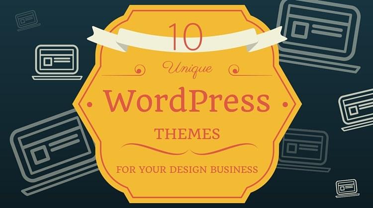 wordpress themes design business