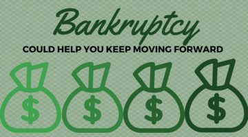 Bankruptcy Could Help You Keep Moving Forward
