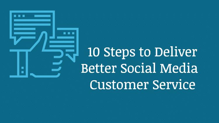 steps social media customer service