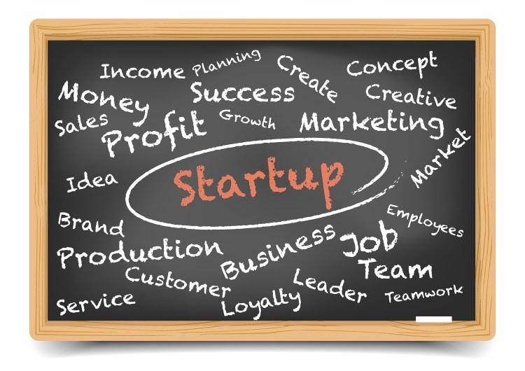 startup words