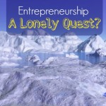 lonely isolation frozen ice landscape penguin entrepreneurship leadership