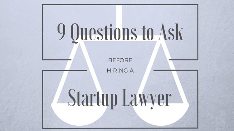 hiring startup lawyer