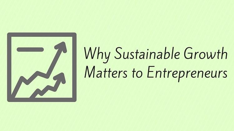 sustainable growth entrepreneurs