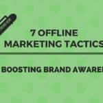 offline marketing tactics