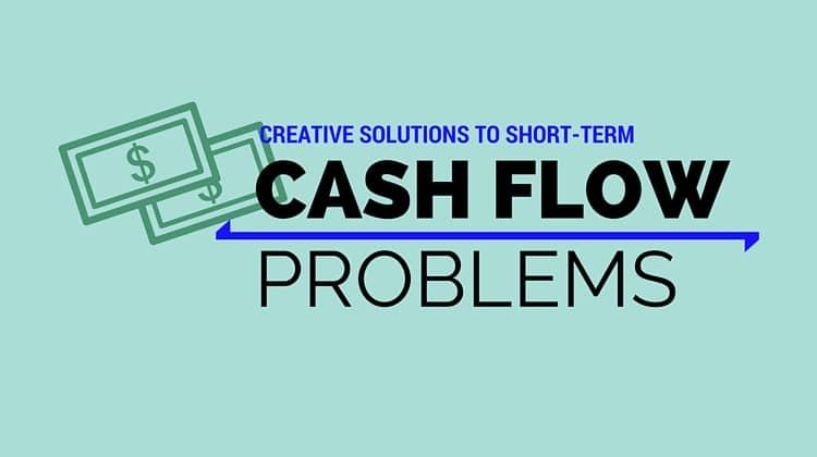 short-term cash flow problems