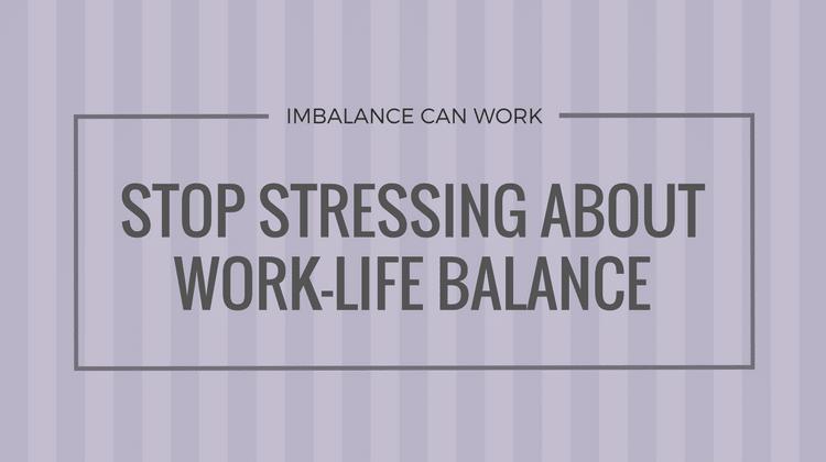 IMBALANCE CAN WORK