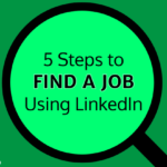 find a job using linkedin