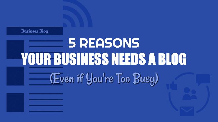 business needs a blog