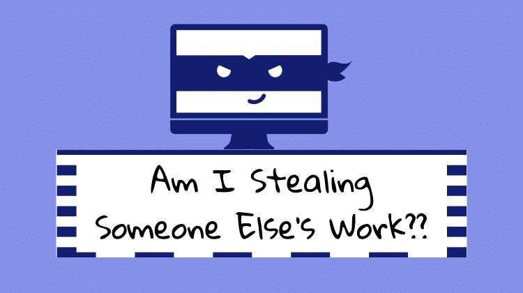 stealing copyright