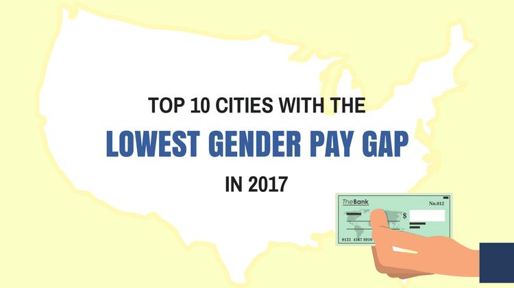 cities gender pay gap
