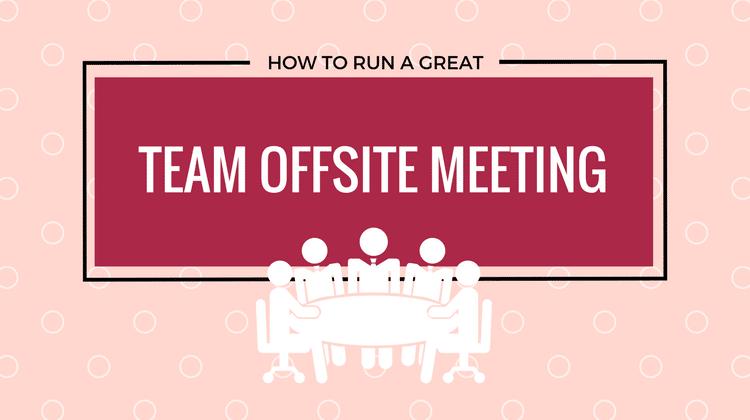 team offsite meeting