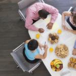 business breakfast meeting