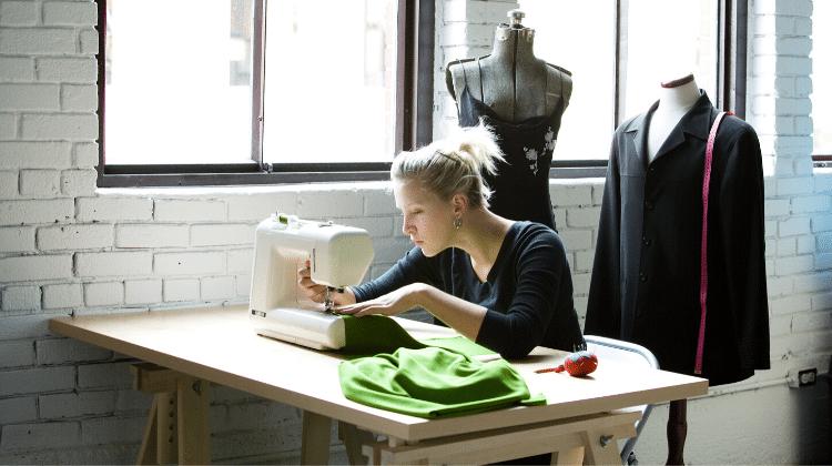 woman fashion designer