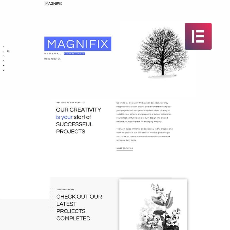 magnifix wordpress theme