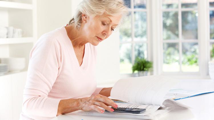 woman pension